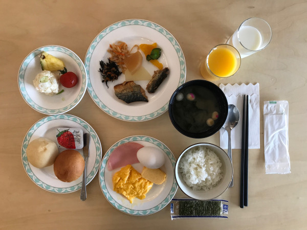 Biei breakfast 2