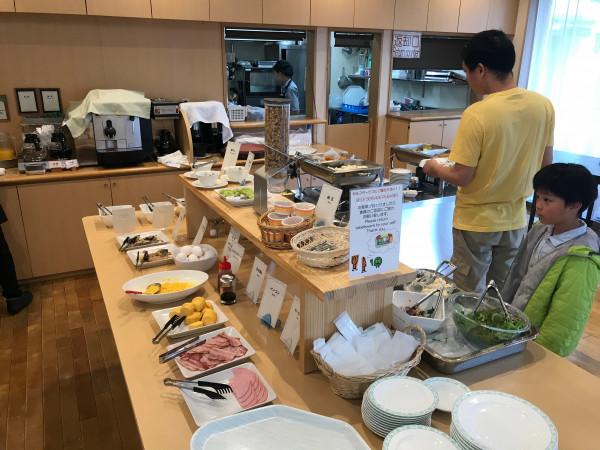 Biei breakfast