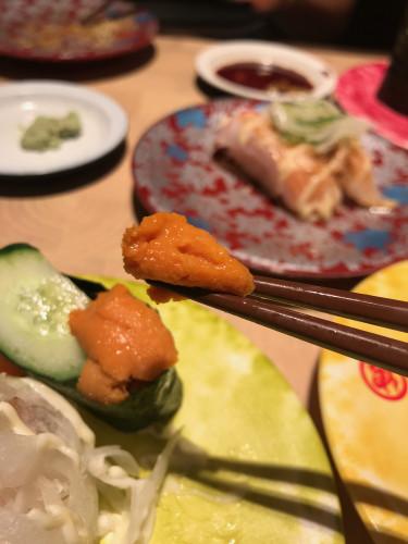 NGO airport sushi 2