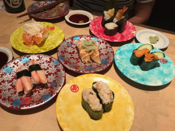 NGO airport sushi