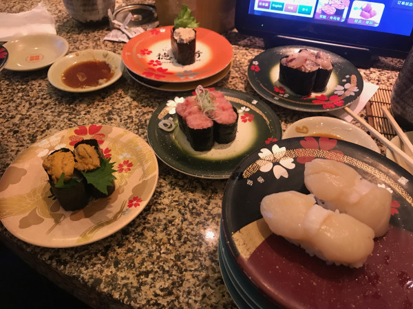 NGO sushi 2