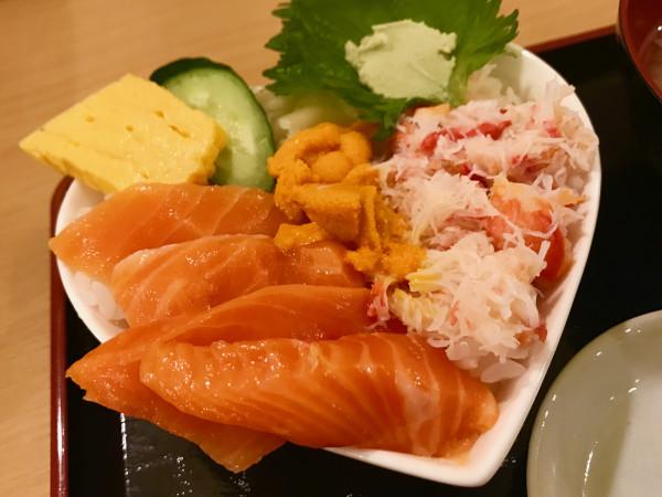 Otaru sashimi