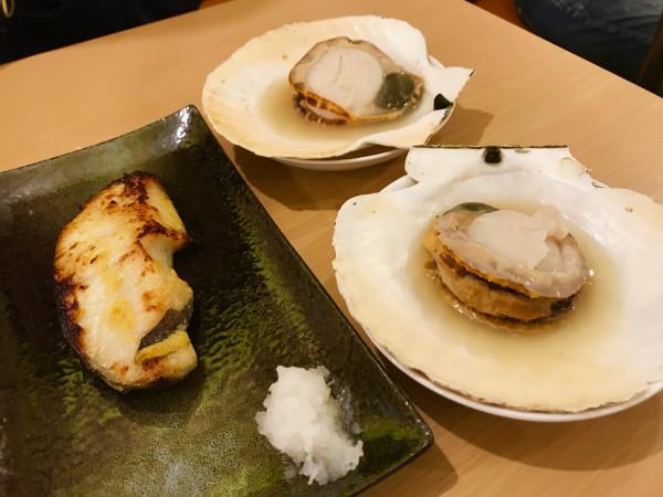 Otaru sashimi fish
